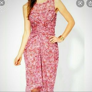 BCBG MaxAzria Like Silk Drape Dress